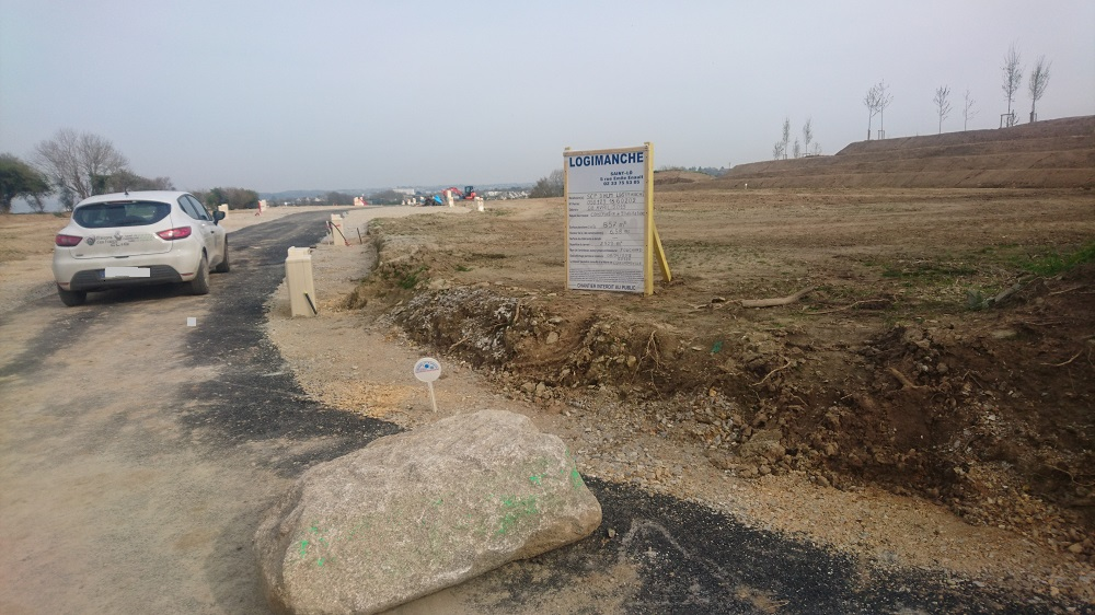 Terrain Equeurdreville constructeur Logimanche